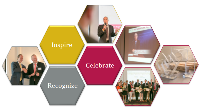 Blokken Inspire, recognize celebrate